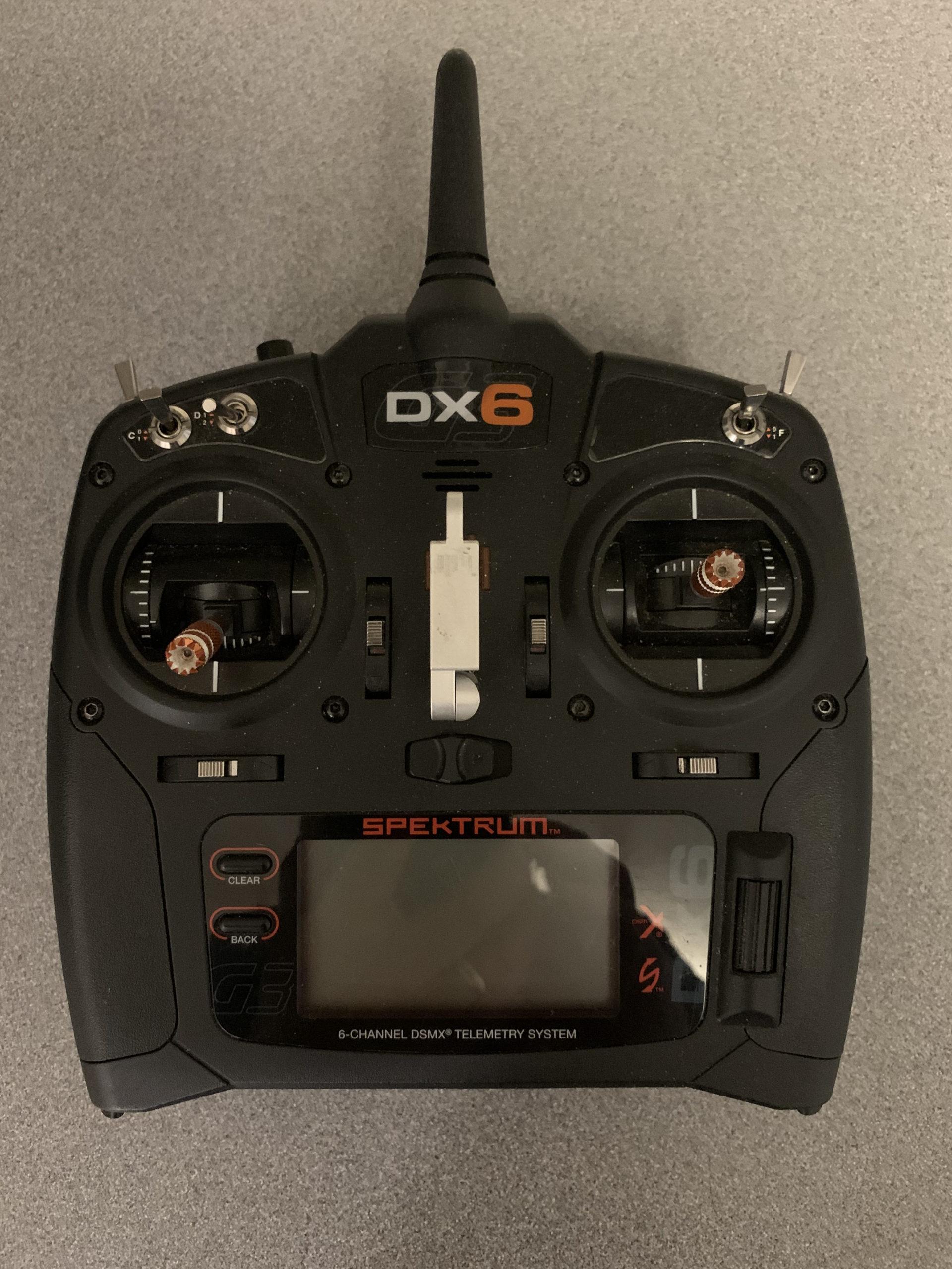 Spektrum DX6 Transmitter (Gen 3)